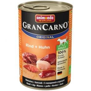 Animonda, GranCarno Adult, z wołowiną i kurczakiem, różne opakowania