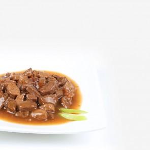 Animonda, Rafiné Soupé, z wołowiną, gęsią i jabłkiem, dla dorosłych kotów, saszetka 100g