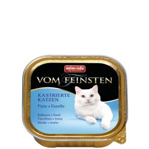 Animonda, Vom Feinsten, dla kastratów, z indykiem i pstrągiem, 100g