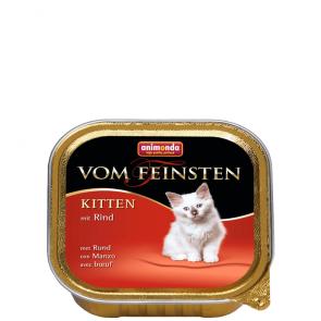 Animonda, Vom Feinsten Kitten, z wołowiną, 100g