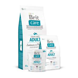 Brit Care, Adult Grain-Free, Salmon & Potato