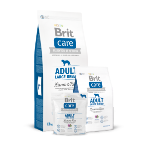 Brit Care, Adult Large Breed, Lamb & Rice