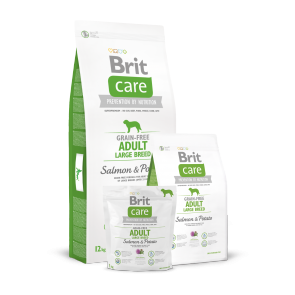 Brit Care, Adult Large Breed, Grain-Free, Salmon & Potato