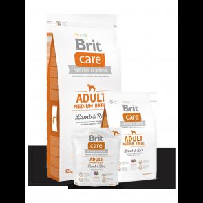 Brit Care, Adult Medium Breed, Lamb & Rice