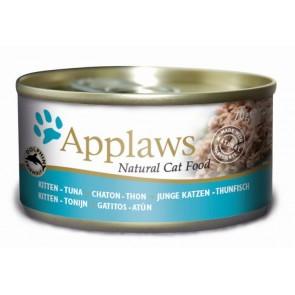 Applaws Kitten, Filet z tuńczyka, 70g