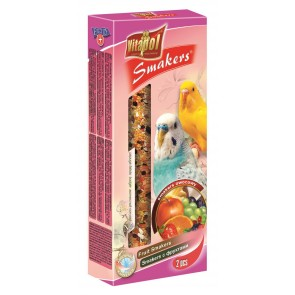 Vitapol, Smakers, Kolba dla papużki falistej, owocowa, 2 sztuki
