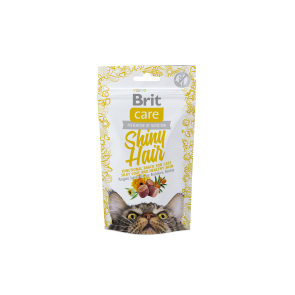Brit Care, Snack Shiny Hair, 50g