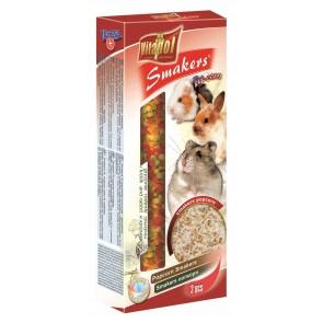 Vitapol, Smakers, Kolba dla gryzoni i królików, popcorn, 2 sztuki