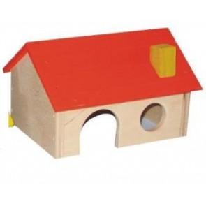 Pinokio, Domek drewniany dla gryzoni