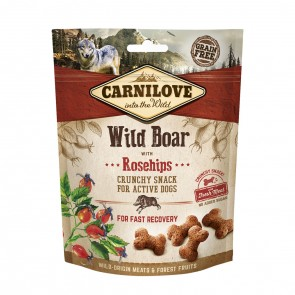 Carnilove, Crunchy Snack Wild Boar & Rosehips With Fresh Meat