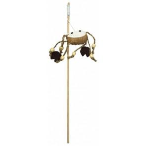 PetNova, Wędka dla kota z krabem, 40cm