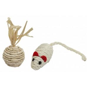 PetNova, Zestaw zabawek sizalowych