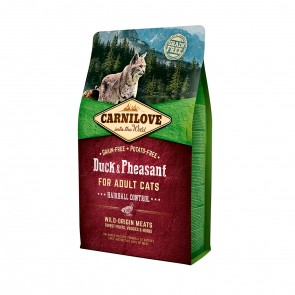 Carnilove, Cat Duck & Pheasant Hairball Control
