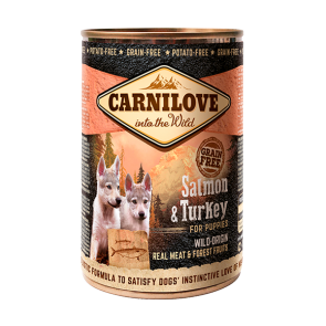 Carnilove, Salmon & Turkey for Puppies