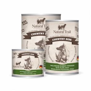 Natural Trail, Country Side, z dzikiem, królikiem i jeleniem