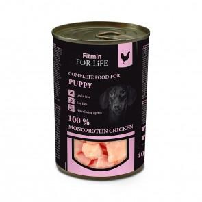 Fitmin, For Life Dog, Monoprotein, Kurczak dla szczeniąt