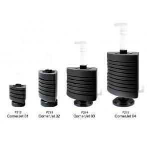 Happet, Corner Jet, filtr gąbkowy