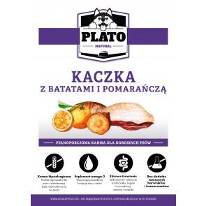 Plato Natural, Kaczka, z batatami i pomarańczą, Adult