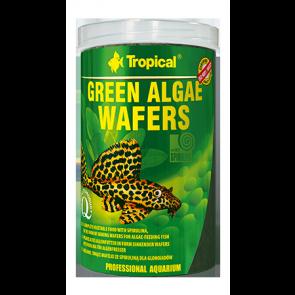Tropical, Green Algae Wafers, wafelki dla glonojadów ze spiruliną