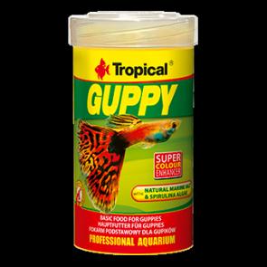 Tropical, Guppy, pokarm w formie płatków dla gupików