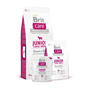 Brit Care, Junior Large Breed, Lamb & Rice