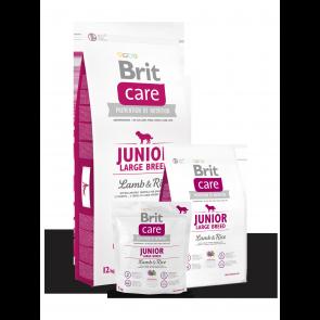 Brit Care, Junior Large Breed, Lamb & Rice