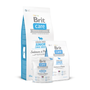 Brit Care, Junior Large Breed, Grain - Free, Salmon & Potato