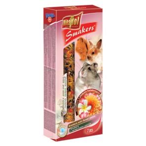 Vitapol, Smakers, Kolba dla gryzoni i królików, koktajlowa, 2 sztuki