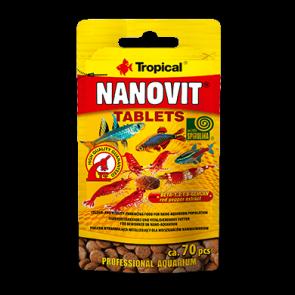 Tropical, Nanovit Tablets, saszetka 10g (ca. 70 sztuk)