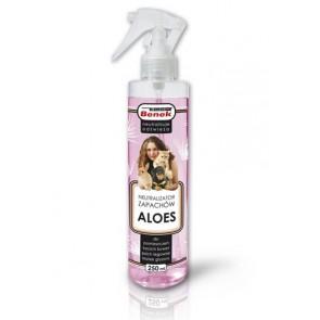 Super Benek, Neutralizator zapachów w sprayu, Aloes, 250ml
