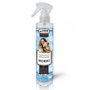 Super Benek, Neutralizator zapachów w sprayu, Morski, 250ml