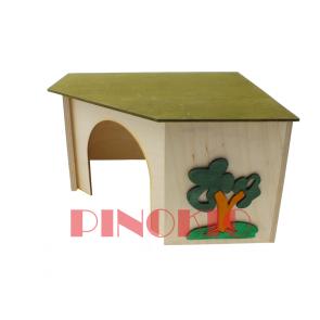 Pinokio, Domek drewniany, narożny (27,5cm)