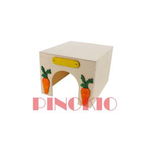 Pinokio, Domek drewniany (23cm)