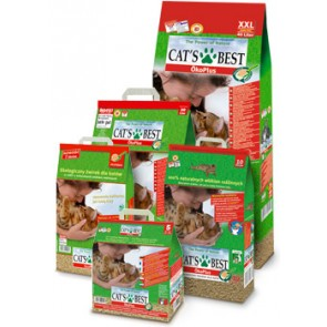 Cat's Best, Eco Plus, zbrylający żwirek drewniany, różne opakowania