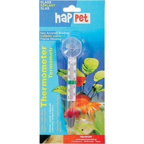 Happet, Termometr szklany, z przyssawką