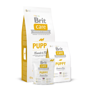 Brit Care, Puppy Lamb & Rice, karma dla szczeniąt z jagnięciną i ryżem