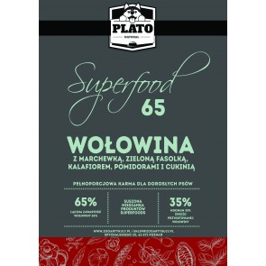 Plato Natural, Superfoods65, Wołowina