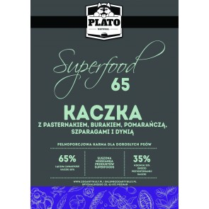 Plato Natural, Superfoods65, Kaczka