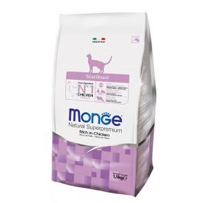 Monge, Sterilised, dla kotów po sterylizacji
