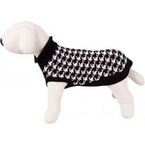 Happet, Sweter czarny / biały