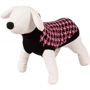 Happet, Sweter czarny / różowy