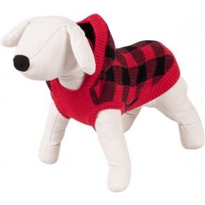 Happet, Sweter czerwony / krata