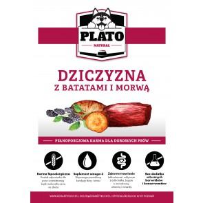 Plato Natural, Dziczyzna (jelenina), batatami i morwą, Adult