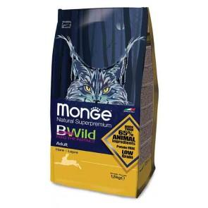 Monge BWild, Zając, dla dorosłych kotów