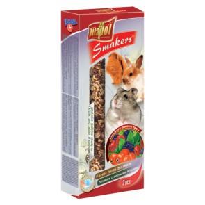 Vitapol, Smakers, Kolba dla gryzoni i królików, orzechowy, 2 sztuki