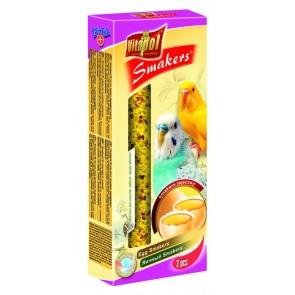 Vitapol, Smakers, Kolba dla papużki falistej, jajeczna, 2 sztuki