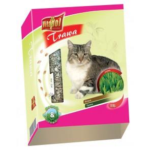 Vitapol, Trawa dla kota w pojemniku, 100g